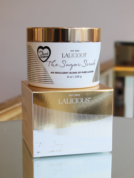 The Lalicious Indulgent Sugar Scrub