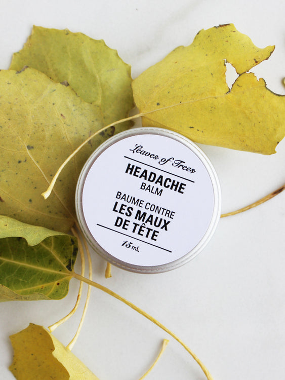 Leaves of Trees Headache Balm