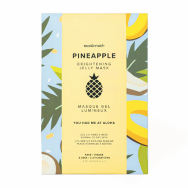 MaskerAide Pineapple Brightening Jelly Mask
