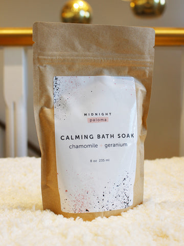 Midnight Paloma Milk Bath Soak