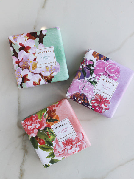 Mistral Exquisite Floral Collection Bar Soap