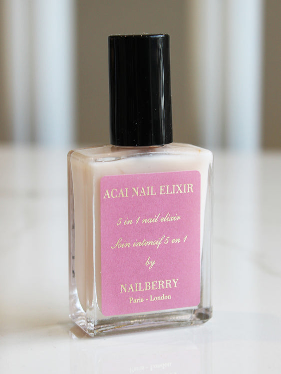 Nailberry Acai Nail Elixir 5 In 1 Base Coat & Treatment