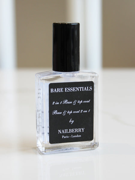 Nailberry Bare Essentials 2 In 1 Oxygenated Base And Top Coat