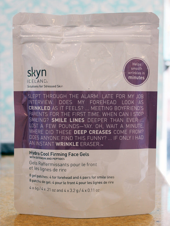 Hydro Cool Firming Face Gels