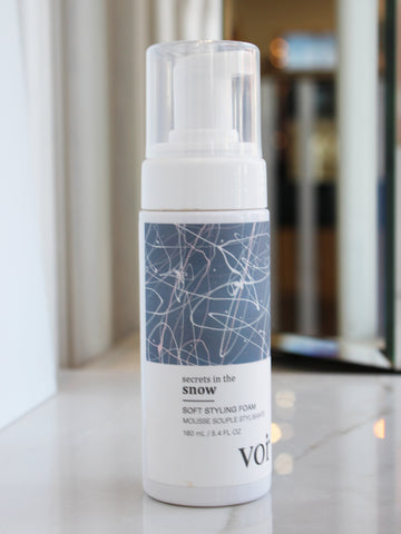 Voir Haircare Soft Styling Foam