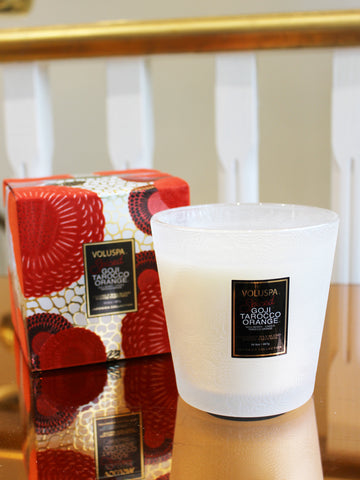 Holiday 2-Wick Hearth Glass Candle 60hr