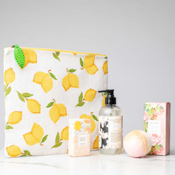 LUX Limited Edition Lemons to Lemonade Gift Set: Bloom