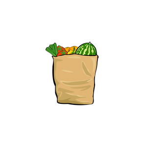 Small Organic Grocery Box