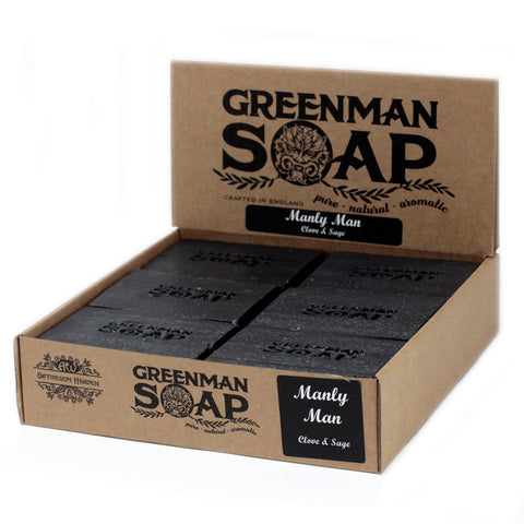 Greenman Soap - Manly Man