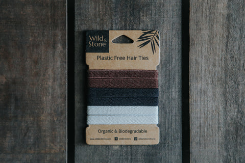 Plastic-Free Hair Ties - Organic & Biodegradable