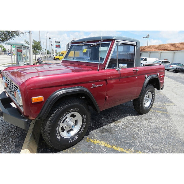 FORD - 1973 Bronco - MAN of the WORLD Online Destination for Men's Lifestyle - 1