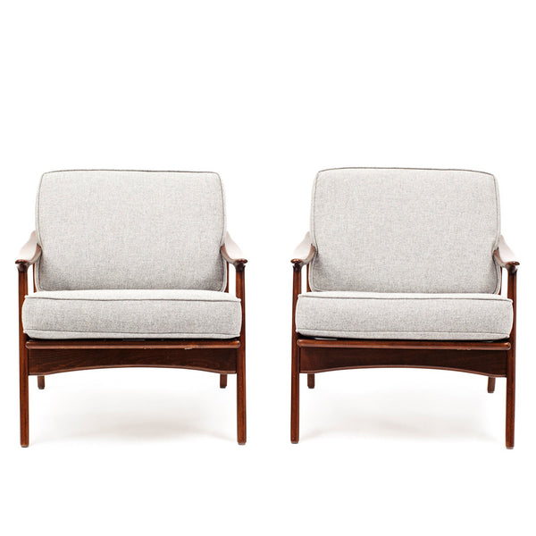 VINTAGE - Danish Modern Armchairs (Set of 2) - MAN of the WORLD Online Destination for Men's Lifestyle - 2