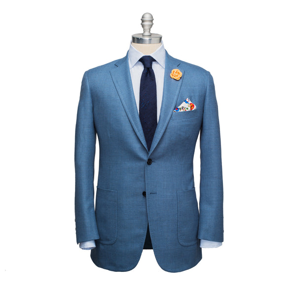 Slate Light Wool Hopsack Sport Coat