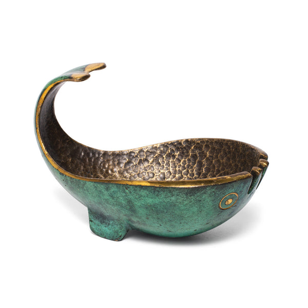 Pal-Bell - Verdigris Bronze Whale Ashtray - MAN of the WORLD Online Destination for Men's Lifestyle - 4