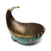 Pal-Bell - Verdigris Bronze Whale Ashtray - MAN of the WORLD Online Destination for Men's Lifestyle - 1