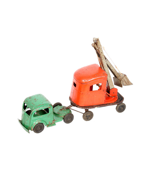 Wilkins Toy Company - Kingsbury Tractor & Shovel - MAN of the WORLD Online Destination for Men's Lifestyle