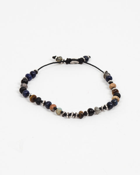 Templar Jointed Gemstone Bracelet