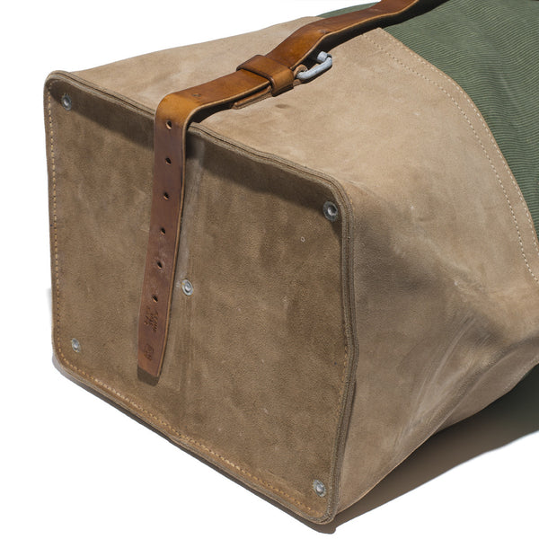 VINTAGE - 70's Swiss Army Duffel Bag - MAN of the WORLD Online Destination for Men's Lifestyle - 9