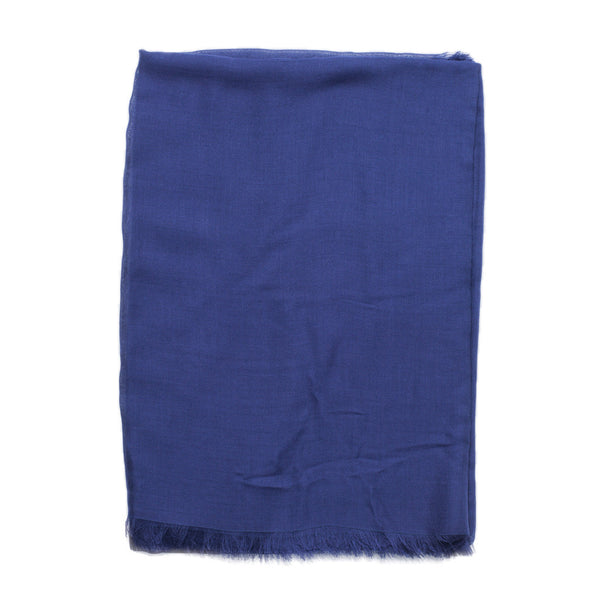 Drake's - MODAL CASHMERE SCARF - NAVY - MAN of the WORLD Online Destination for Men's Lifestyle - 2