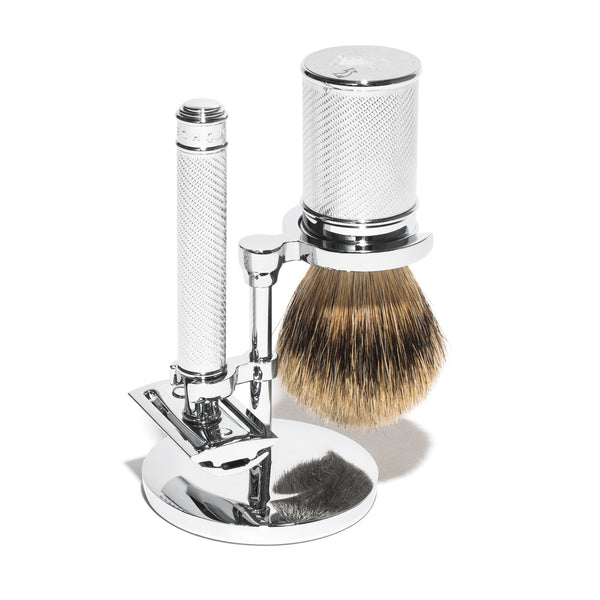 Muhle - Safety Razor and Shave Brush Stand - MAN of the WORLD Online Destination for Men's Lifestyle - 4