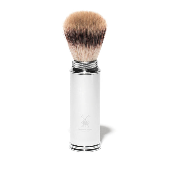 Travel Shave Brush - Silvertip Fiber Bristle