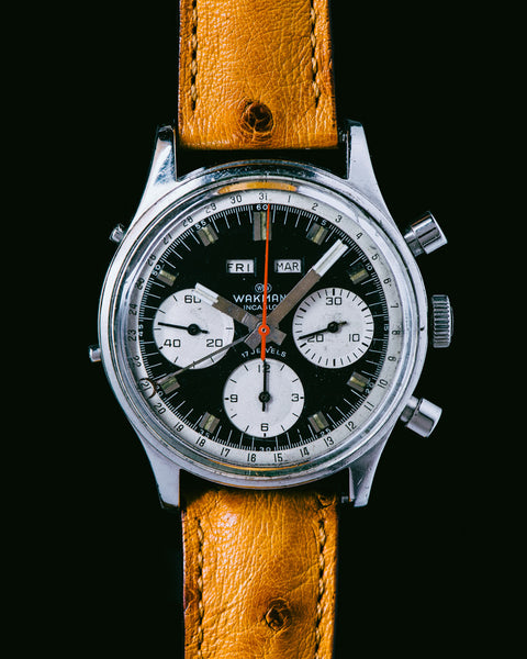 WAKMANN - Triple Calendar Chronograph - MAN of the WORLD Online Destination for Men's Lifestyle - 3