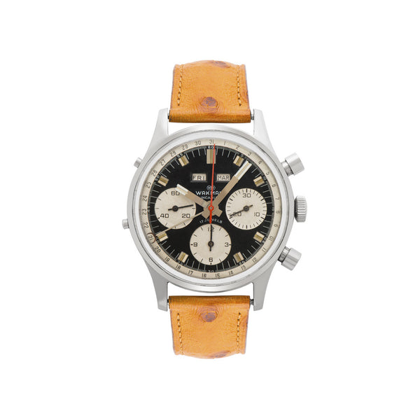 WAKMANN - Triple Calendar Chronograph - MAN of the WORLD Online Destination for Men's Lifestyle - 1