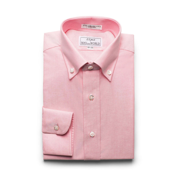 Pink Oxford Button-down Collar Shirt