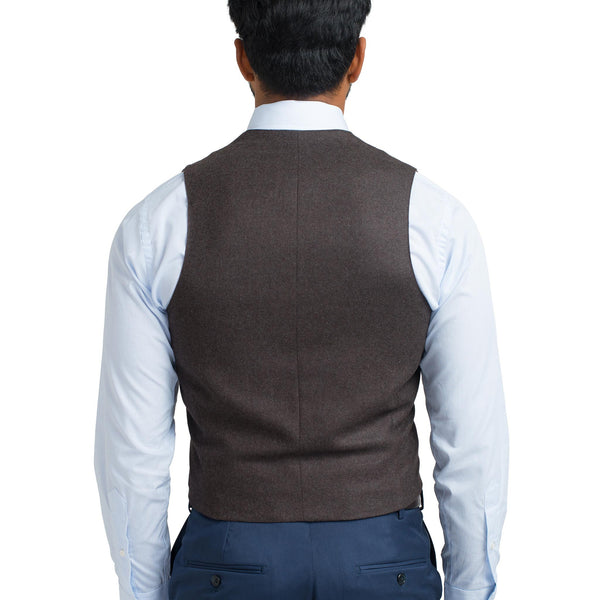 Suiting Vest - Brown