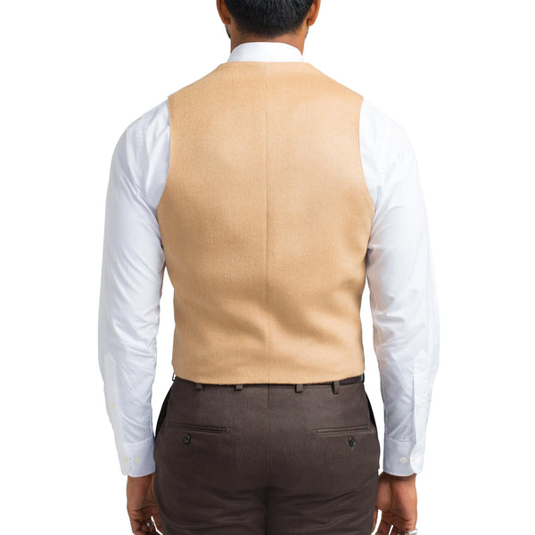 Suiting Vest - Camel