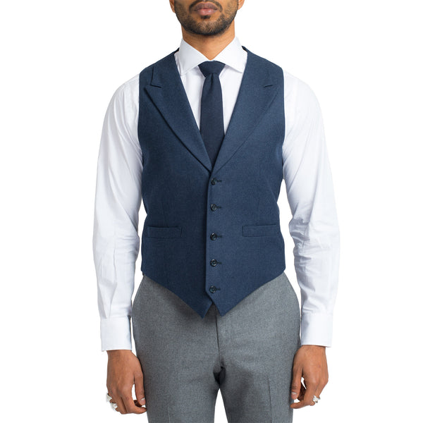 Suiting Vest - Navy