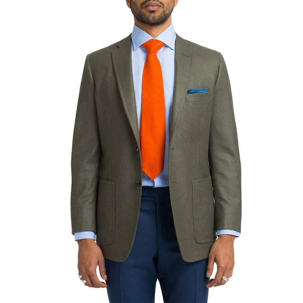 Medium Heather / Olive Sport Coat