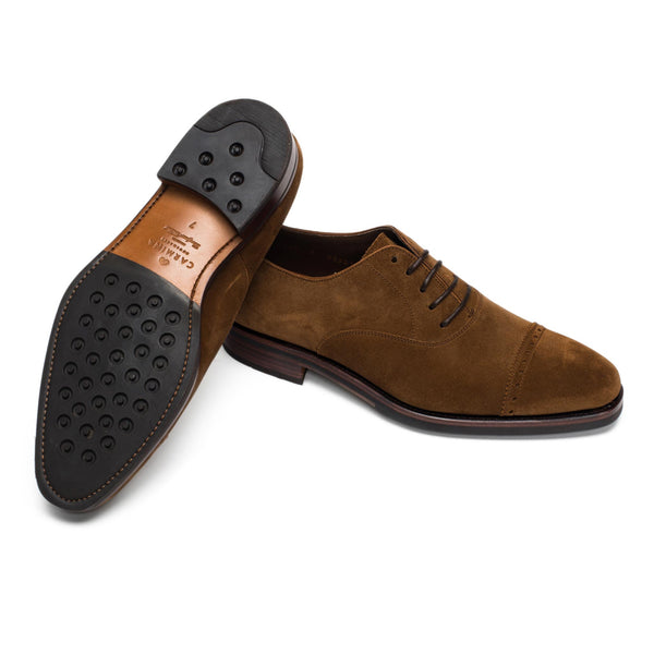 Snuff Suede Oxfords 80201 Rain