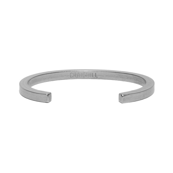 Uniform Square Cuff - Stainless Steel