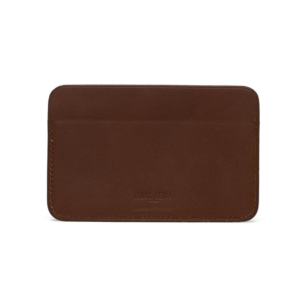 Leather Classify Cardholder - Chestnut