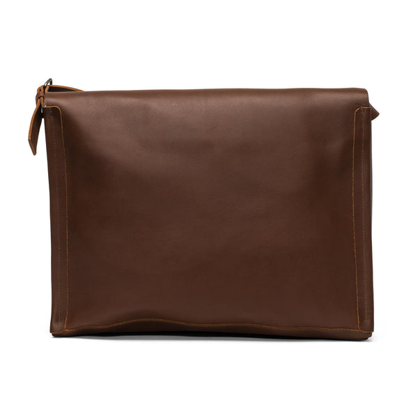 Leather Gabriel Messenger - Chestnut
