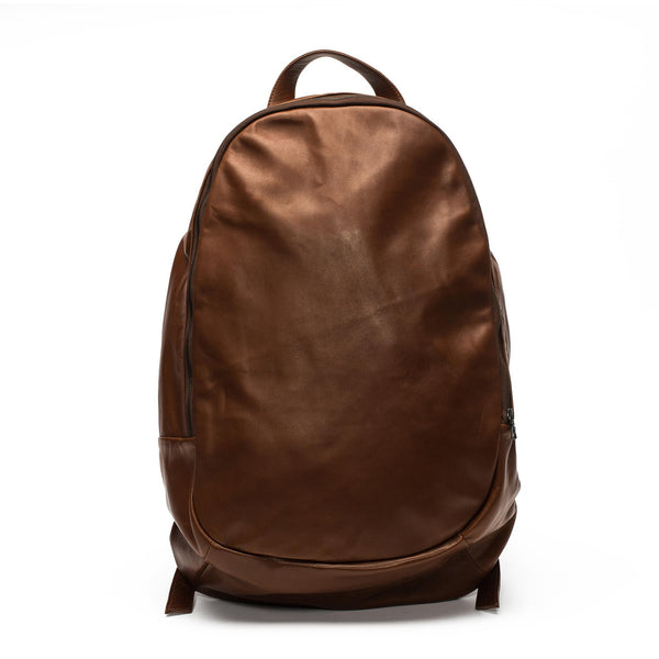 Ultra Soft Leather Backpack - Chestnut
