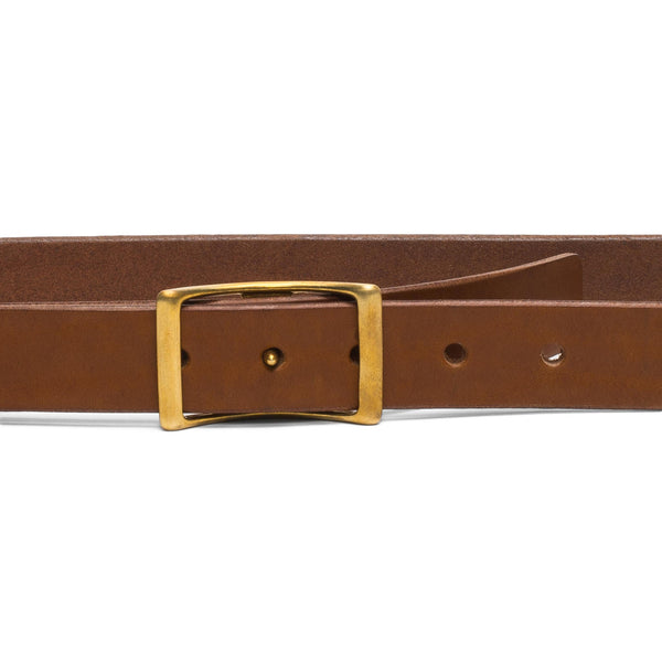 Medium Conway Buckle Belt - Tan