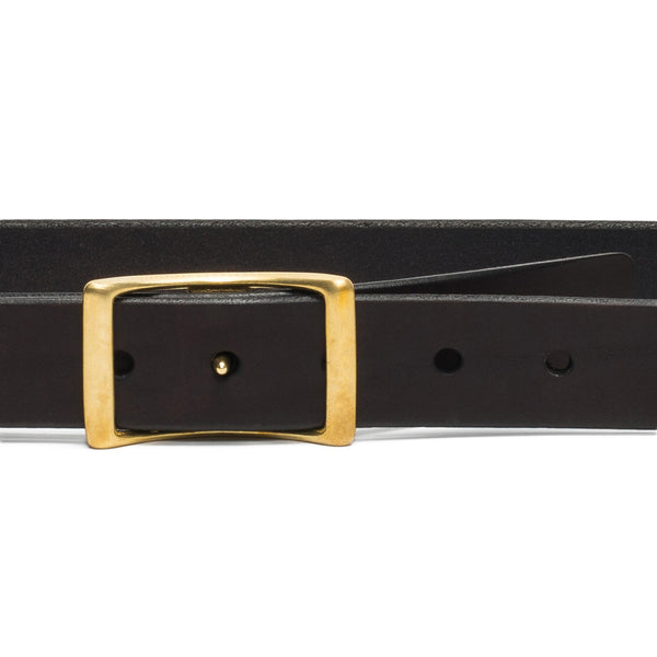 Medium Conway Buckle Belt - Walnut