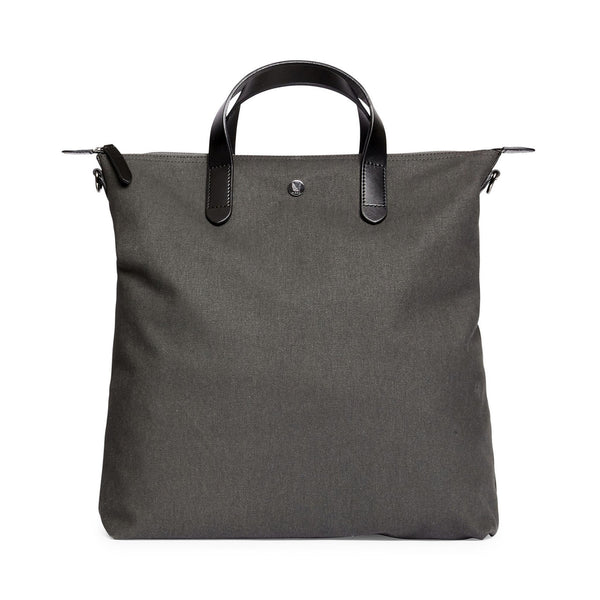 Original Shopper - Overcast Canvas & Black Leather