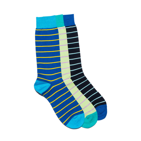 West Indian Sea Island Cotton Multi-colored Sock