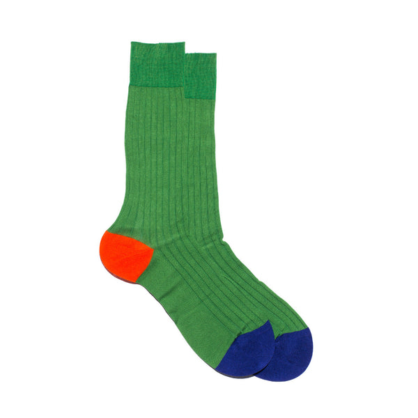 Egyptian Cotton Lisle Multi-Colored Sock