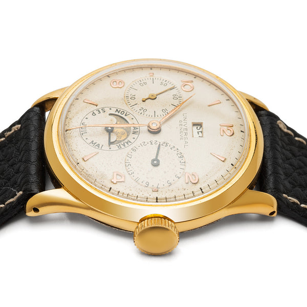 UNIVERSAL GENEVE - Triple Calendar Moon-Phase - MAN of the WORLD Online Destination for Men's Lifestyle - 2