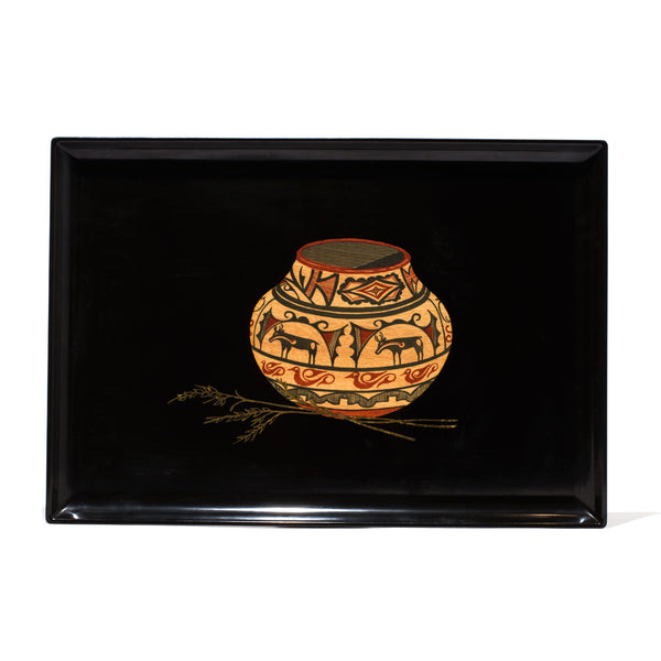 Couroc - Large Urn & Wheat Tray - MAN of the WORLD Online Destination for Men's Lifestyle - 1
