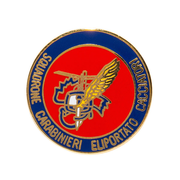 Vintage Military Pins - Italian Carabinieri Helicopter Unit Pin - MAN of the WORLD Online Destination for Men's Lifestyle - 1