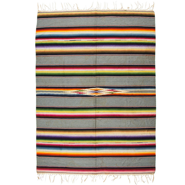 VINTAGE - Gray Serape - MAN of the WORLD Online Destination for Men's Lifestyle - 1