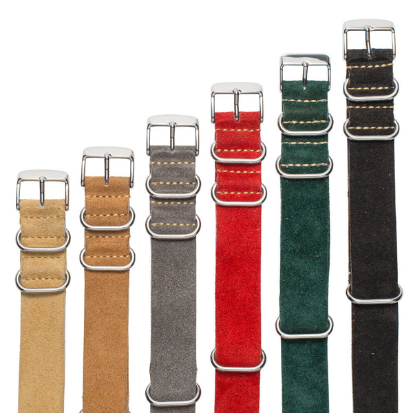 Suede NATO Watch Strap