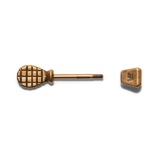 POSTALCO - Pinch Totem Key Holder Brass - MAN of the WORLD Online Destination for Men's Lifestyle - 2