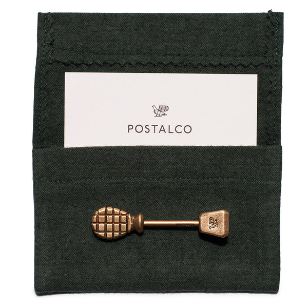 POSTALCO - Pinch Totem Key Holder Brass - MAN of the WORLD Online Destination for Men's Lifestyle - 5