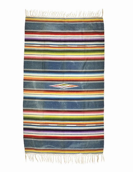 VINTAGE - Mexican Serape Indigo Multi - MAN of the WORLD Online Destination for Men's Lifestyle